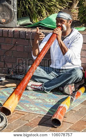 The Aborigene musician
