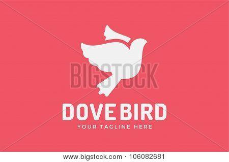 Dove vector logo icon