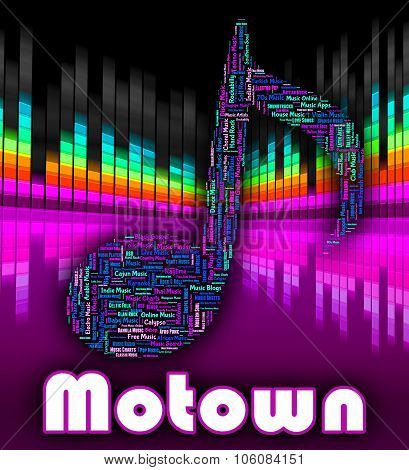 Motown Music Represents Sound Track And Audio