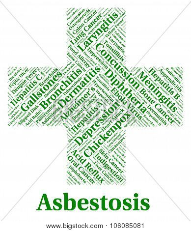 Asbestosis Illness Indicates Lung Cancer And Ailments