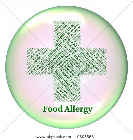Food Allergy Meaning Allergic Reaction And Chow poster