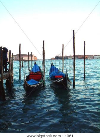 Venice Gondolas 01