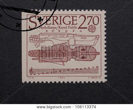 Sweden Mail Stamp
