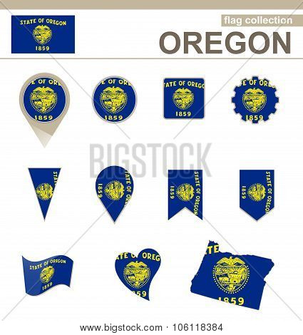 Oregon Flag Collection