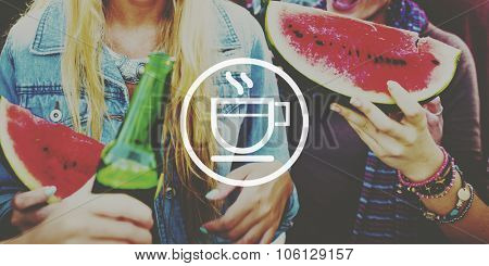 Friendship Celebration Party Beach Summer Concept