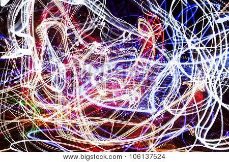 Light-trail Motion Blur