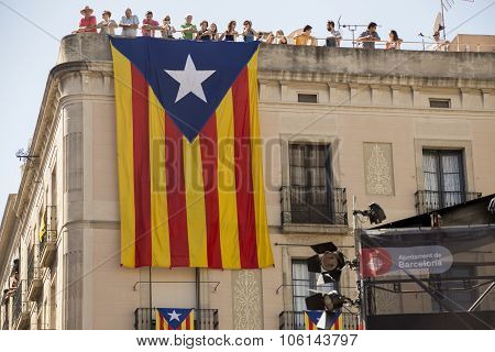 Catalonian Independence flag