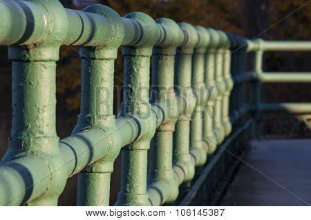 Rough Textured Rail