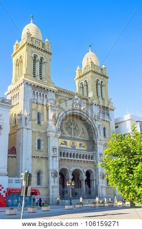 The Cathedral In Tunis