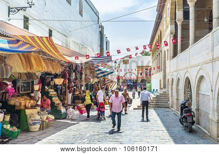 The Souq Of Tunis