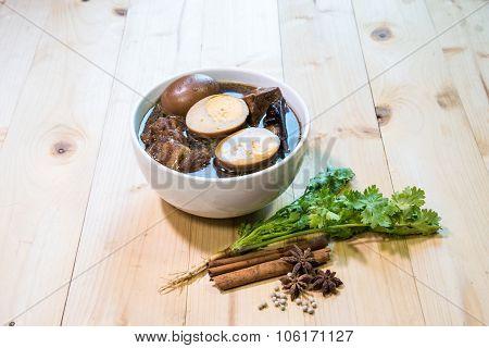 Khai Palo Is Name Thai Food
