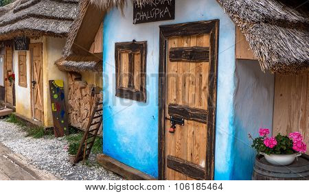 Colorful Wooden Cottages, Bojnice - Slovakia