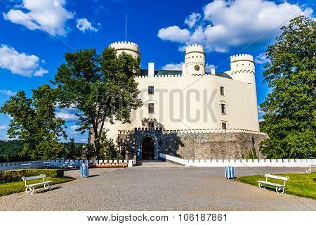 Orlik Castle-south Bohemia, Czech Republic