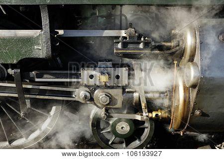 Old Steam Locomotive, Wheels