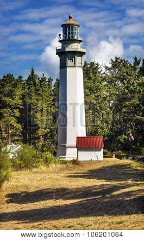 Grays Harbor Lighthouse Maritime Museum Westport Washington State