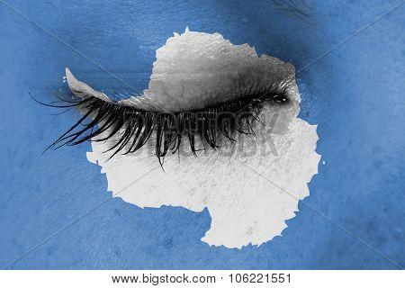 Women Eye, Close-up, Tear