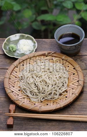 mori soba, buckwheat noodles, japanese food