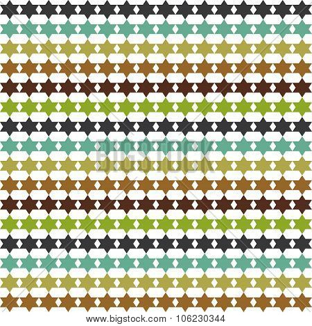 Abstract pattern with stars, background, texture
