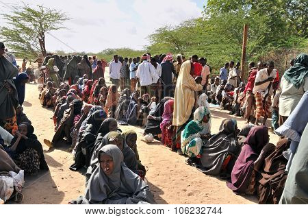 African People Desperately Waiting For Help