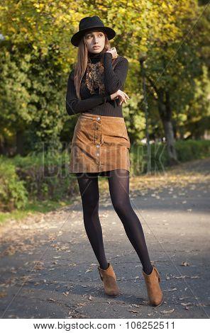 Autumn Fashion Beauty.