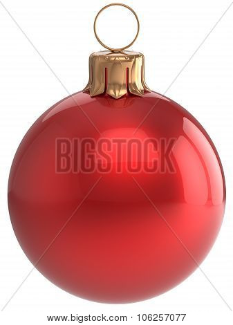 Christmas Ball New Year's Eve Bauble Red  Xmas Decoration