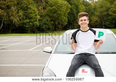 Learner Driver Passed Driving Test