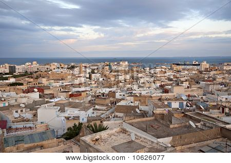 The top view of the Medina of Sousse