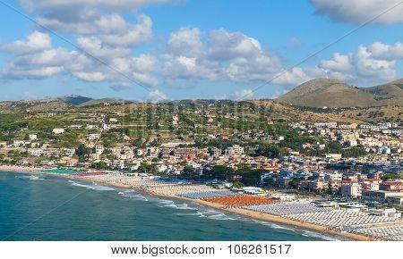 Mediterranean Sea, Coastal Landscape. Gaeta