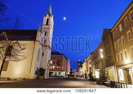 Schlosskirche And Spremberger Turm