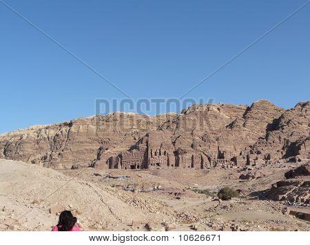Das Finanzministerium von Siq, Petra, Jordanien