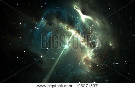 Pulsar In The Nebula