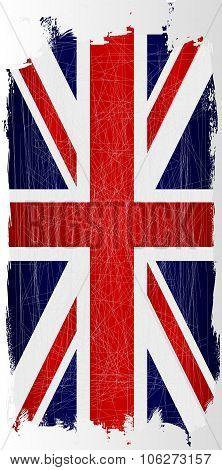 Hanging Grunge Union Jack