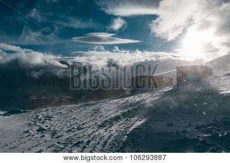 Shelter At Mount Elbrus