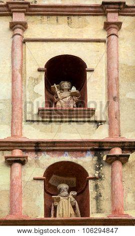 The Temple And Ex Convent Of San Jeronimo, Tlacochahuaya, Oaxaca, Mexico