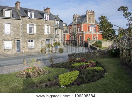Castle Gardens, Dinan, Brittany, France