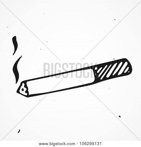 Cigaret Hand Drawn