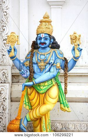 Statue of Lord Vishnu ,Hindu god