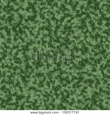 digital camouflage seamless background pattern.
