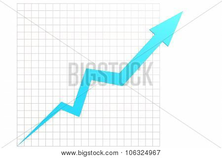 Blue Graph In Chart Table