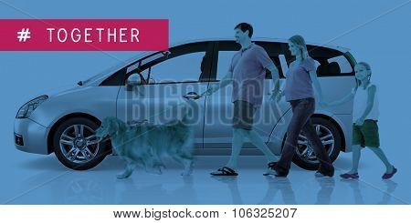Multi Purpose Vehicle Car Family Lifestyle Concept