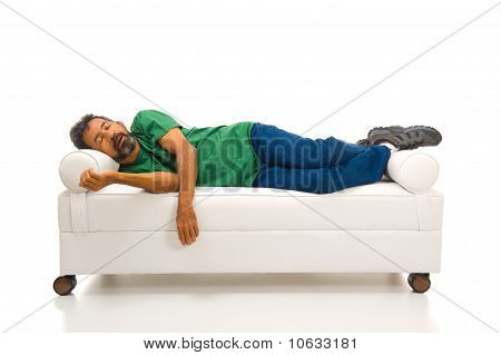 Adult In The Sofa