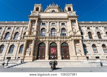 Entrance To Naturhistorisches Museum, Vienna