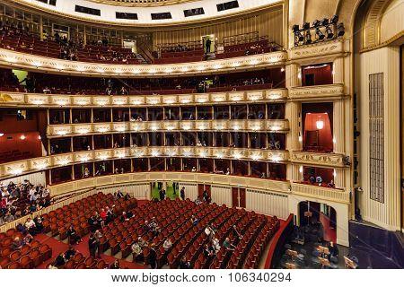 Spectator In Vienna State Opera House