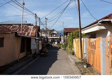 Manado Shantytown Street North Sulawesi