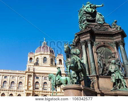 Maria Theresa Monument And Natural History Museum