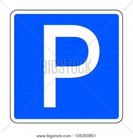 Car parking sign