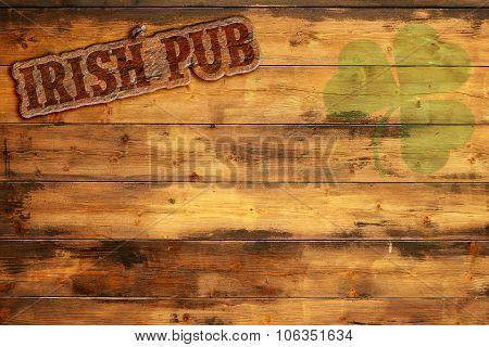 irish pub sign