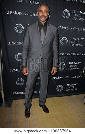 LOS ANGELES - OCT 26:  Rick Fox at the Paley Center's Hollywood Tribute to African-Americans in TV at the Beverly Wilshire Hotel on October 26, 2015 in Beverly Hills, CA