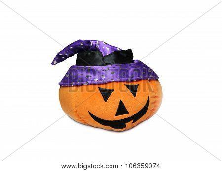 pumpkin by a holiday Halloween