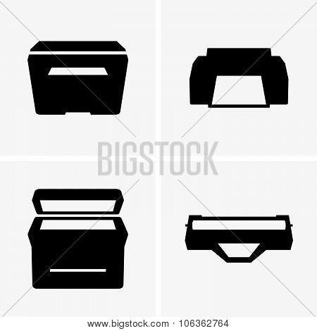 Printers and cartridge